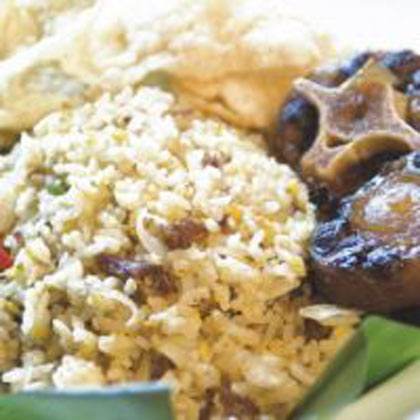 Post image for Nasi Goreng Buntut Dari Ikon Resto Cafe