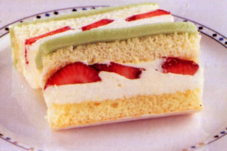Post image for Resep Kue Cake Lapis Stroberi